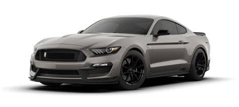 2018 Mustang Side View by 2018 Ford Mustang Shelby Gt350 Lead Foot Gray Front Side