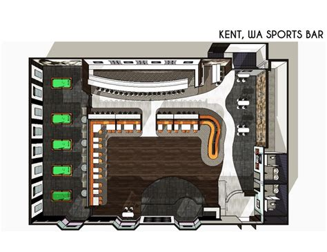 sports bar floor plans design desain bar studio design gallery photo