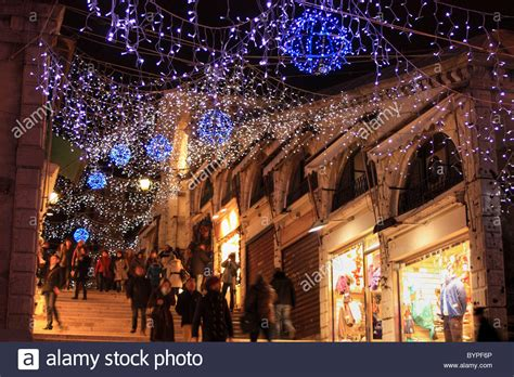 christmas decorations in italy facts lights at rialto bridge in venice italy stock photo royalty free image 34300974 alamy