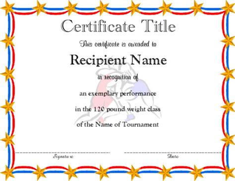 editable award certificate template award certificate templates