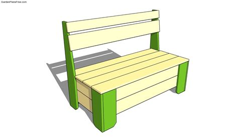 free garden bench plans garden storage box plans free garden plans how to build garden projects