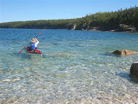 paddle boat rentals tobermory kayak canoe rental