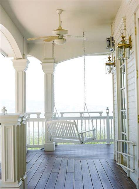 veranda swing front porch swing beautiful porches pinterest