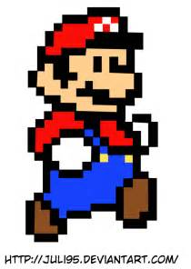 Pixelated Mario Characters Pixel Mario Characters Viewing Gallery