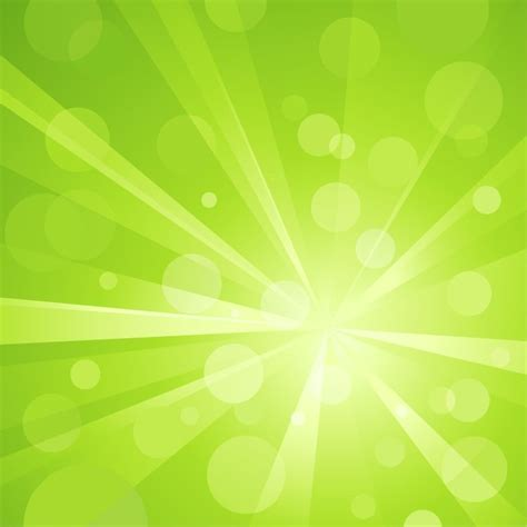 background design light green abstract green light bokeh background vector graphic