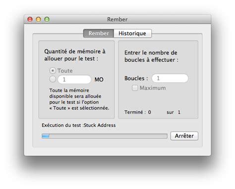 test ram mac tester la ram de mac barrettes m 233 moire macplan 232 te