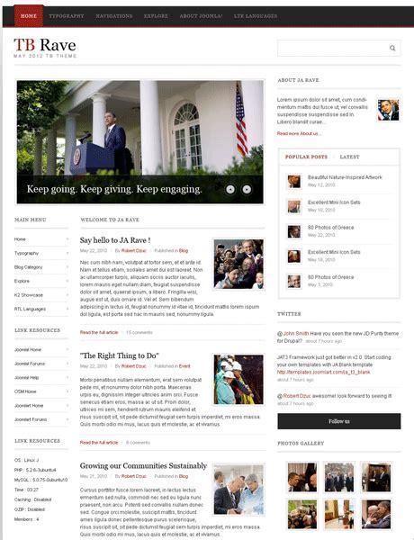 newspaper theme for drupal drupal news theme and drupal magazine theme tb rave