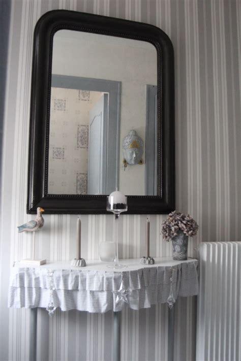 deco salon bleu et gris