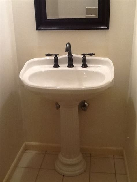 half size bathtub beadboard height in small half bath