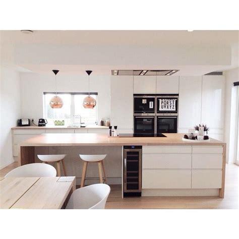 ilot central pour cuisine 4570 best 20 simple kitchen design ideas on white