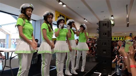 Babyfaces Playlist In Stores Today And Tv Appearances This Week by Crayon Pop Performs Bar Bar Bar At Westfield Chatswood