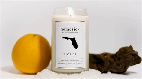 state candles state scented homesick candles make great gifts