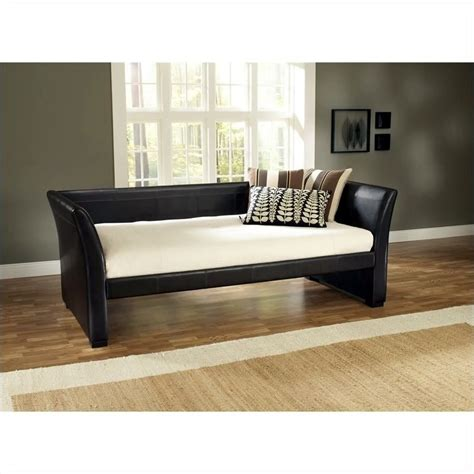 Leather Daybed With Trundle Hillsdale Malibu Brown Leather Daybed With Trundle 1519dbt