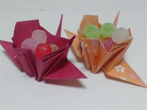 Great Origami - great origami how to make paper crane box 暮らしを彩る すてきなおりがみ