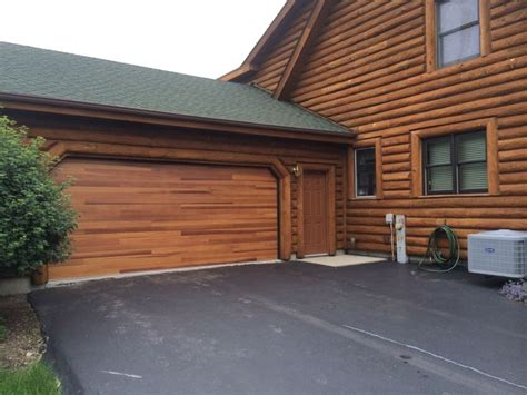 Buffalo Overhead Door Transform Your Home With The Warmth And Appeal Of An Accents Planks Garage Door From C H I