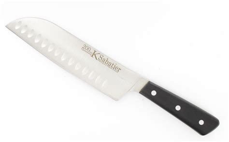 knives cooking knife 7 in with air pockets 200