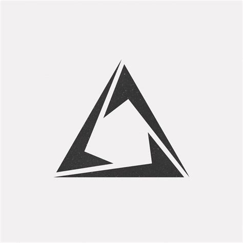 triangle pattern logo 521 best logos icons images on pinterest logos tags and