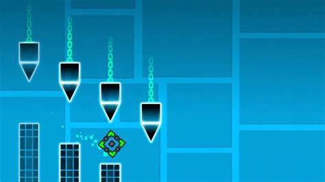 geometry dash full version beat geometry dash beat polargeist in one try youtube