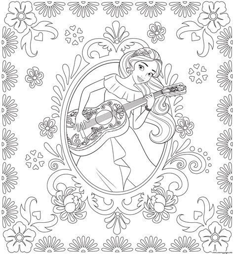 Princess Elena Of Avalor Disney Princess Coloring Pages Princess Of Avalor Coloring Pages Free Coloring Sheets