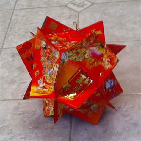 Ang Pow Paper Folding - envelope lantern folding by jossfolder on