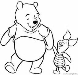 pooh bear coloring pages download print free