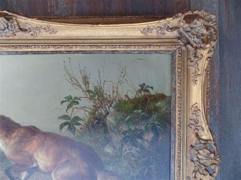 right top corner fox top right corner detail before art restoration