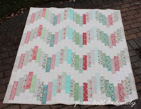 Jelly Roll Quilt Tutorials by From Bolt To Tutorial Ridiculously Easy Jelly