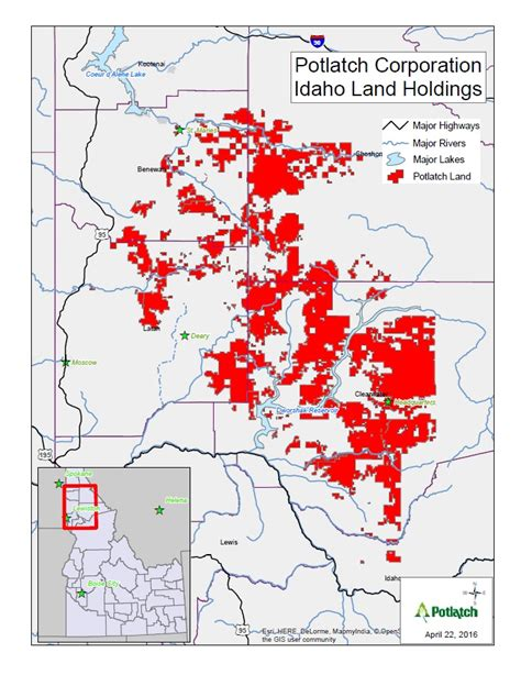 burn ban map 2014 burn ban issued for potlatch property in idaho the
