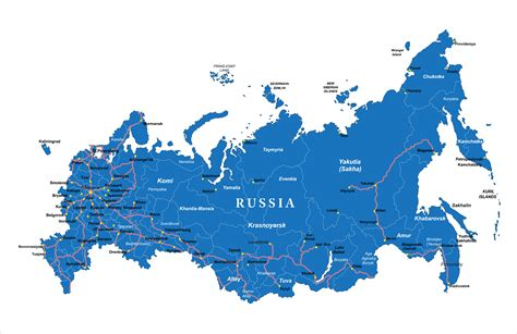 russia map earth russia map guide of the world