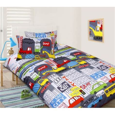 Bedcover Kintakun Glow In The Glow In The Bed In The City Quilt Cover Set
