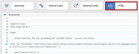html pattern for url evaluation onpage d adresses url individuelles dans l