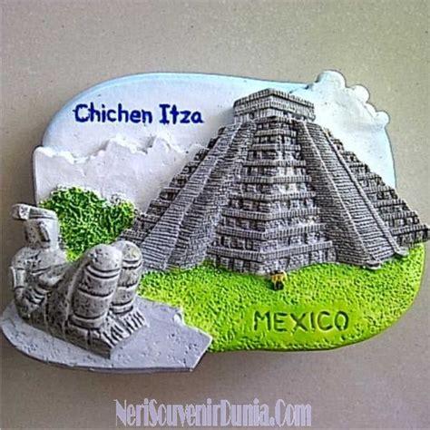 souvenir mexico terlaris magnet kulkas berkualitas jual souvenir magnet kulkas chichen itza mexico