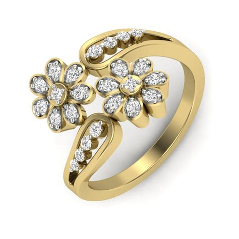 Golden Ring New Design by Buy The Veilian Ring Buy Rings In India