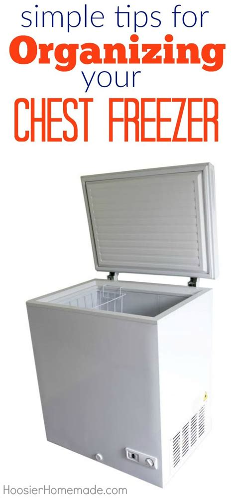 can you place a chest freezer on a carpeted floor 31 best freezer organization images on