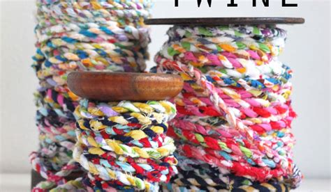 how to make fabric from scraps make fabric scrap twine