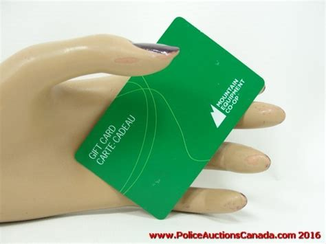 Co Op Gift Cards - police auctions canada mountain equipment co op gift card 25 124167h