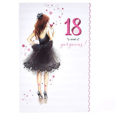 Mother S Day Card Ideas by 18th Birthday Card 18 Amp Gorgeous Card Factory