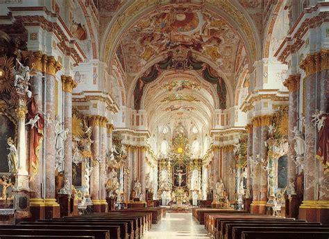 baroque architecture baroque church interior www pixshark com images