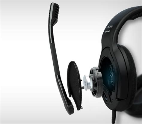 Headset Sennheiser Pc 360 sennheiser pc360 3 5mm connector circumaural headset