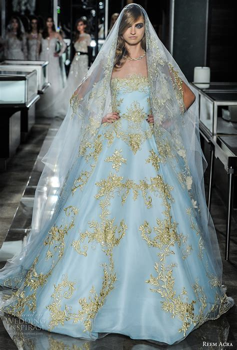 bridal fashion week reem acra spring 2018 wedding dresses new york bridal