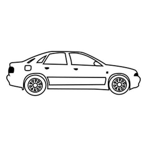 car coloring page outline cartoon car side outline www pixshark com images