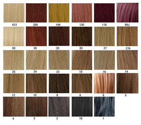 wig color chart hair color chart aprillacewigs