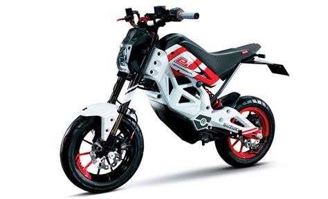 Suzuki Mini Bikes 187 Suzuki To Unveils The Extrigger Electric Mini Bike