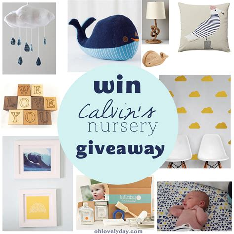 calvins nursery giveaway oh lovely day - Nursery Giveaway