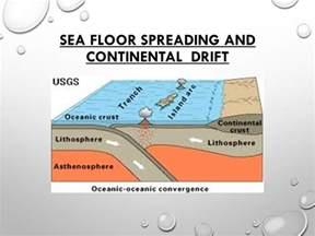Used As Evidence For Sea Floor Spreading by Sea Floor Spreading And Continental Drift Ppt