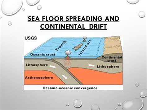 Which Evidence Supports The Theory Of Floor Spreading - sea floor spreading and continental drift ppt
