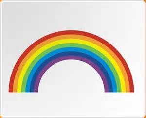 rainbow stickers for walls rainbow wall sticker