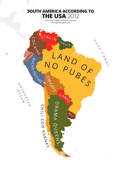 map usa and south america south america according to usa print alphadesigner store