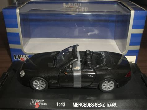 Diecast High Speed Skala 195 bimbim diecast metal diecast 0224 high speed mercedes 500sl