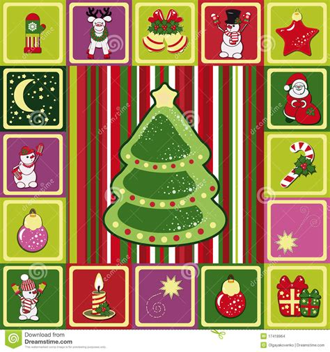 christmas pattern frame frame christmas pattern stock images image 17418964